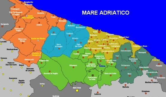 Cartina Puglia Molfetta.Molfetta Free Www Molfettafree It